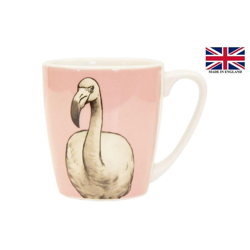 Queens by Churchill – The Kingdom Flamingo Mug 300ml (Made in England)