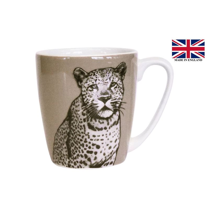 Queens by Churchill – The Kingdom Leopard Mug 300ml (Made in England)