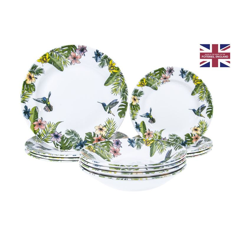 Queens by Churchill – 12pc Dinner Set Reignforest (Made in England)