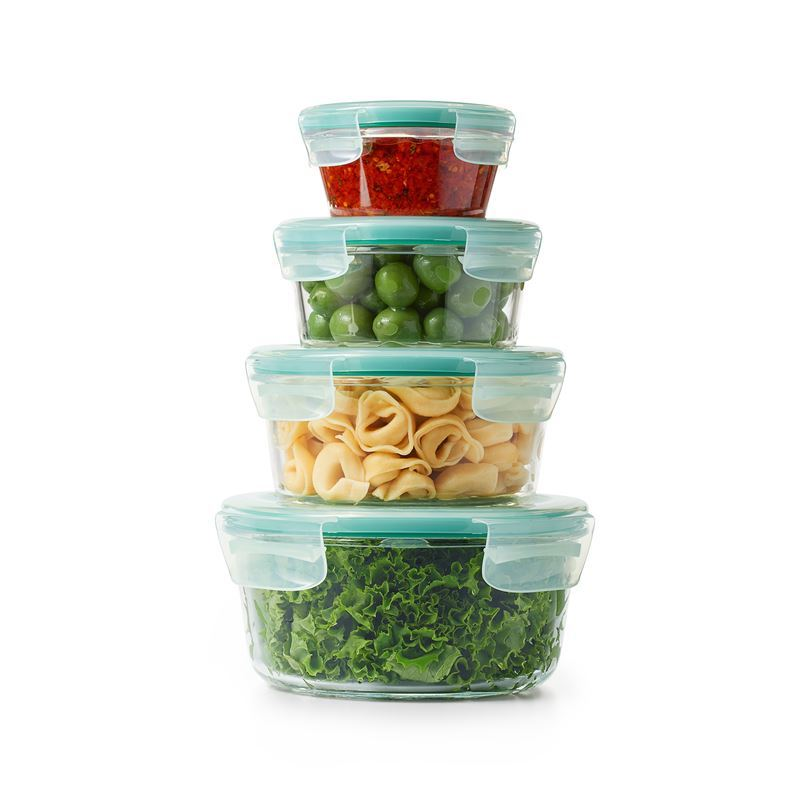 Oxo – Good Grips Smart Seal Glass 4pc Round Container Set
