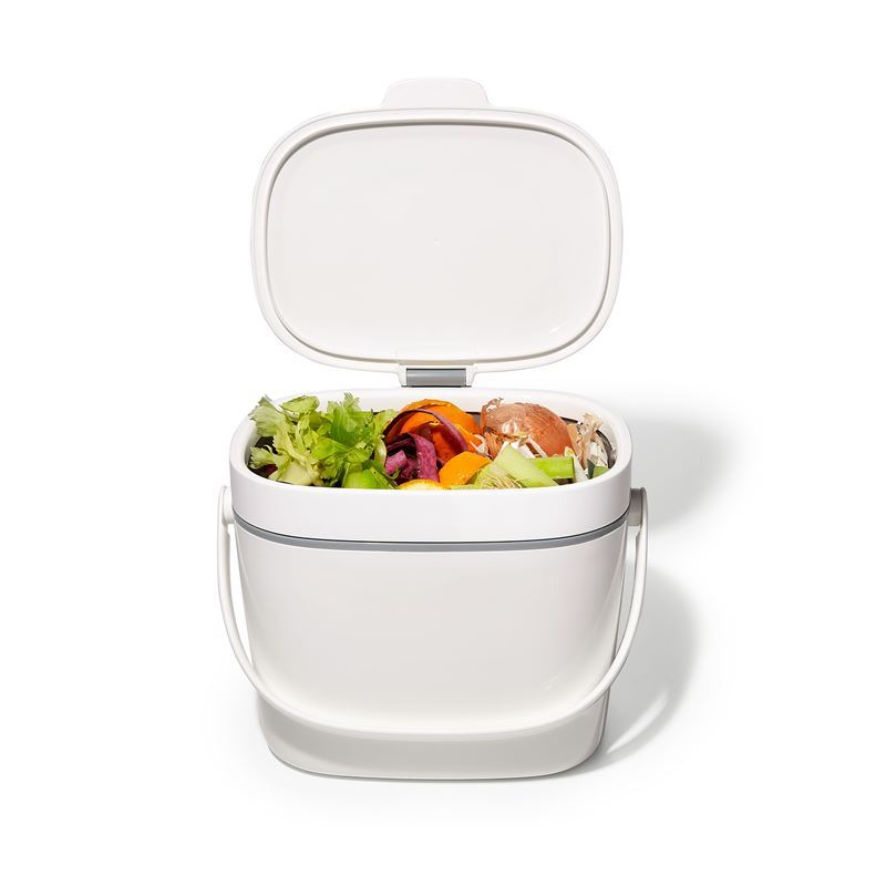 Oxo Good Grips – Easy-Clean Compost Bin White