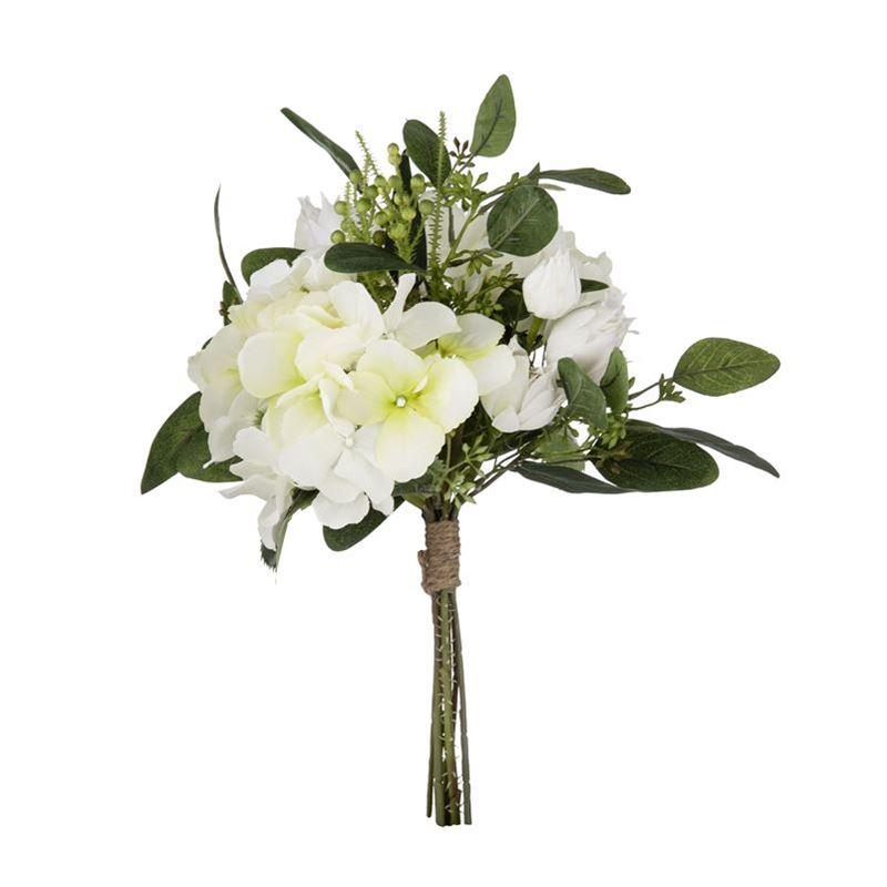 Rogue – Hydrangea Mix Bouquet White 25x25x30cm