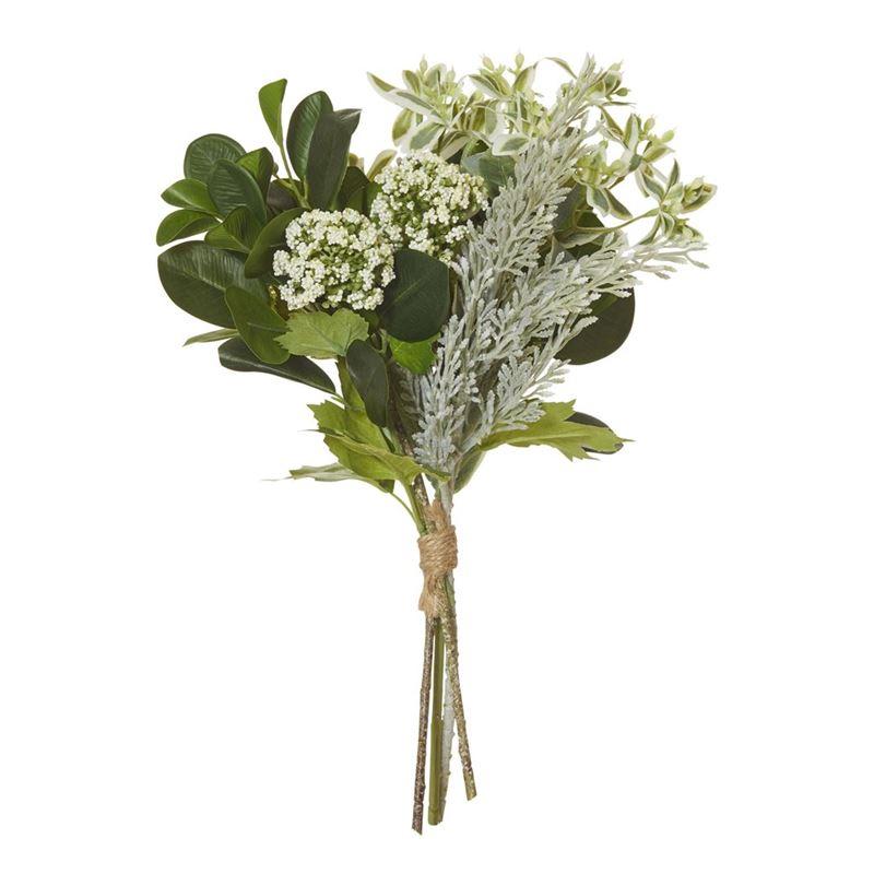Rogue – Mixed Garden Bundle Bouquet 30x30x38cm Green/White
