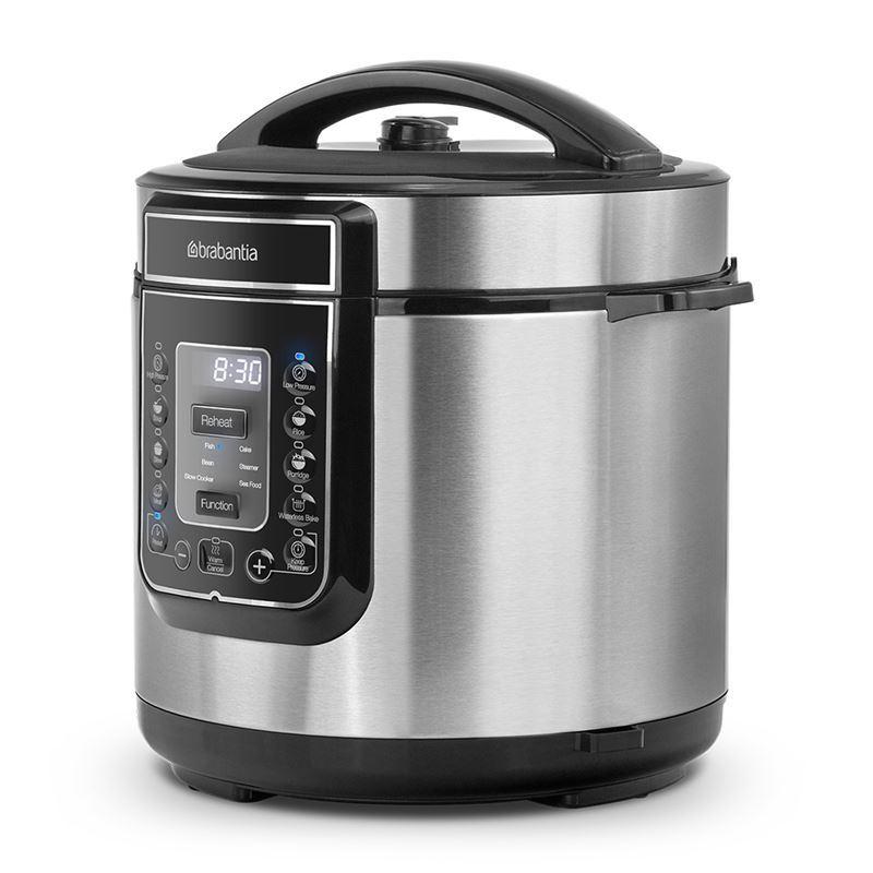 Brabantia – Electrical Pressure Cooker – 6Ltr Digital