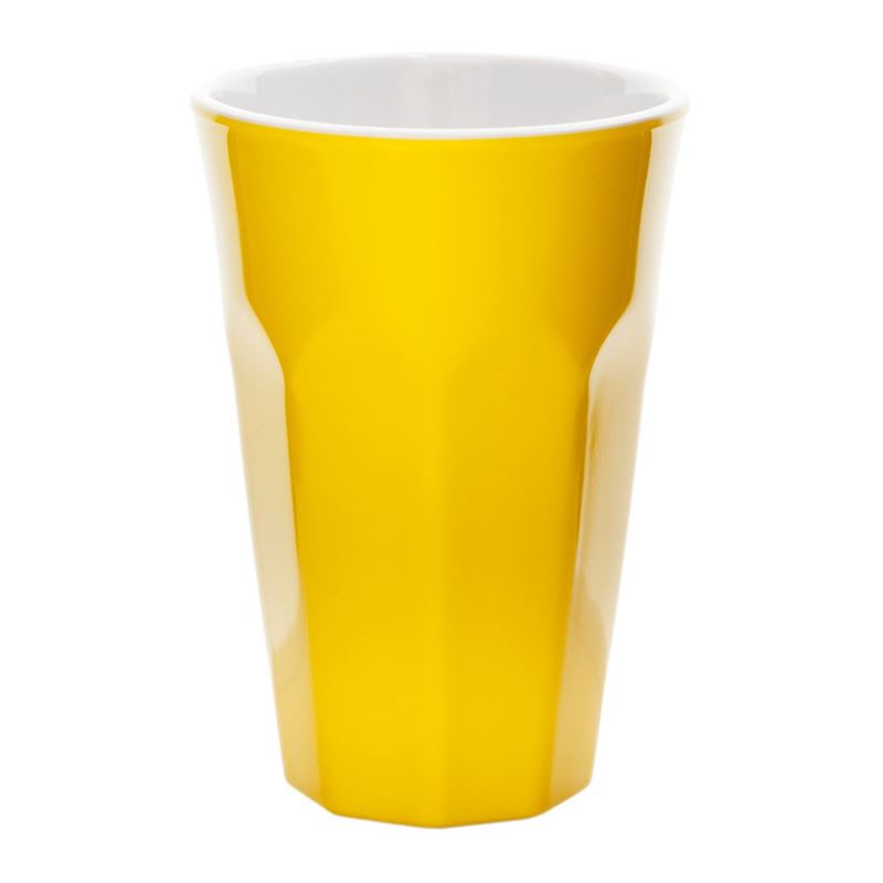 Benzer – Ice Melamine TALL Cooler 475ml Yellow