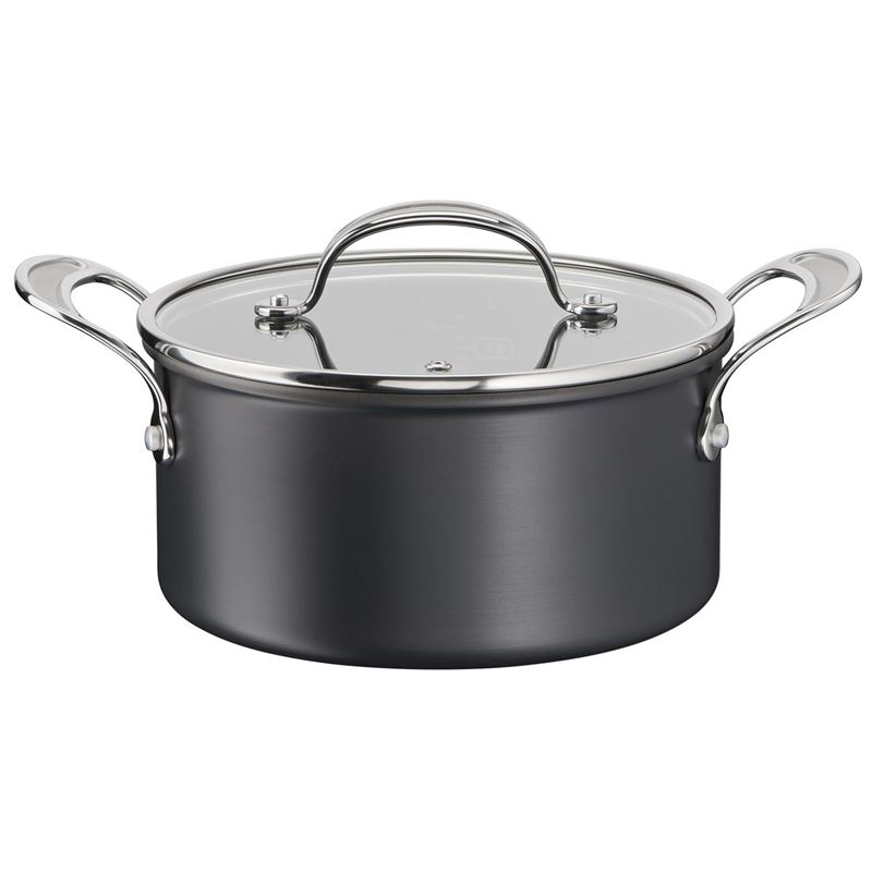 Jamie Oliver by Tefal – NEW Cook's Classic Induction Non-Stick Hard Anodised 24cm Stewpot 5.3Ltr with Lid