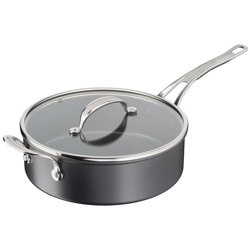 Jamie Oliver by Tefal – NEW Cook's Classic Induction Non-Stick Hard Anodised Saute Pan 26cm