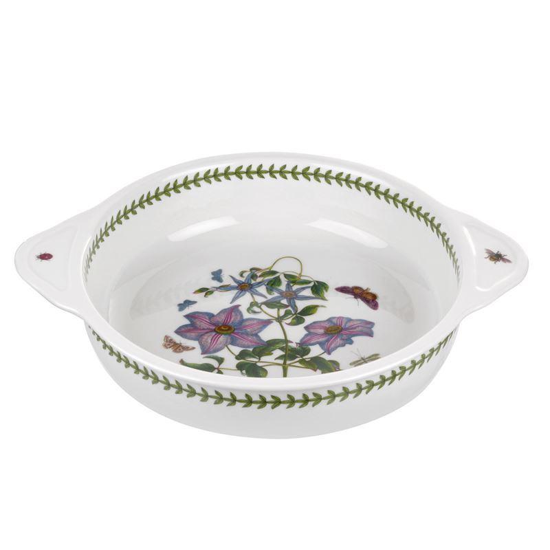 Portmeirion Botanic Garden – Round Baking Dish with Handles 25cm