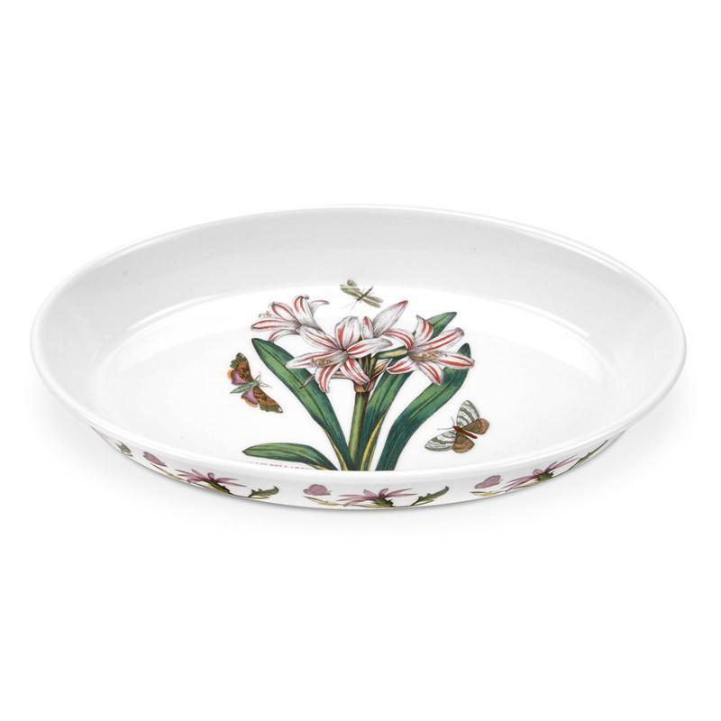 Portmeirion Botanic Garden – Oval Baking Dish Belladonna 28cm