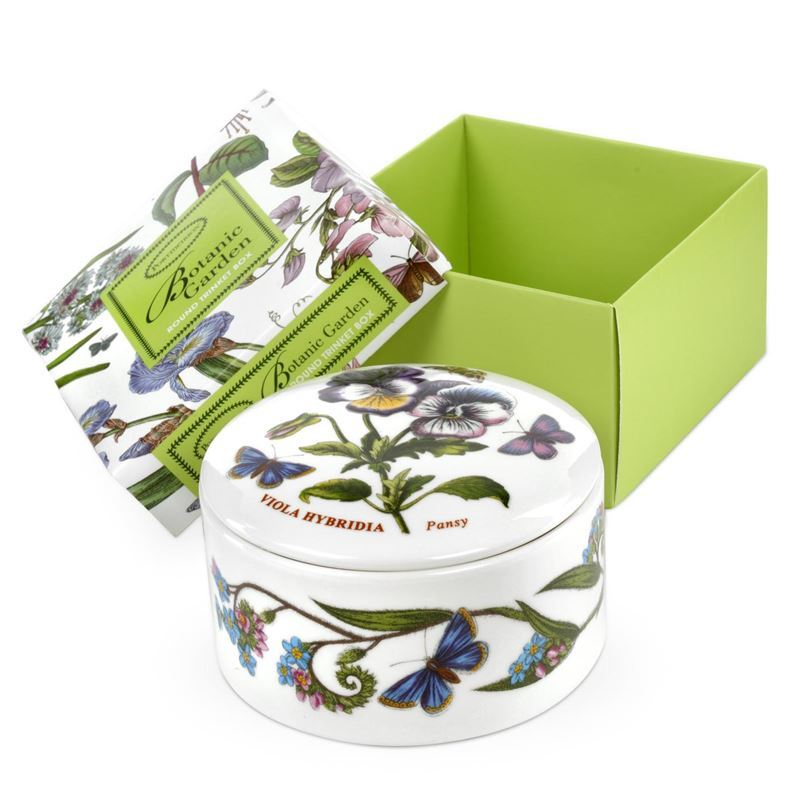 Portmeirion Botanic Garden – Round Trinket Box 9.5cm
