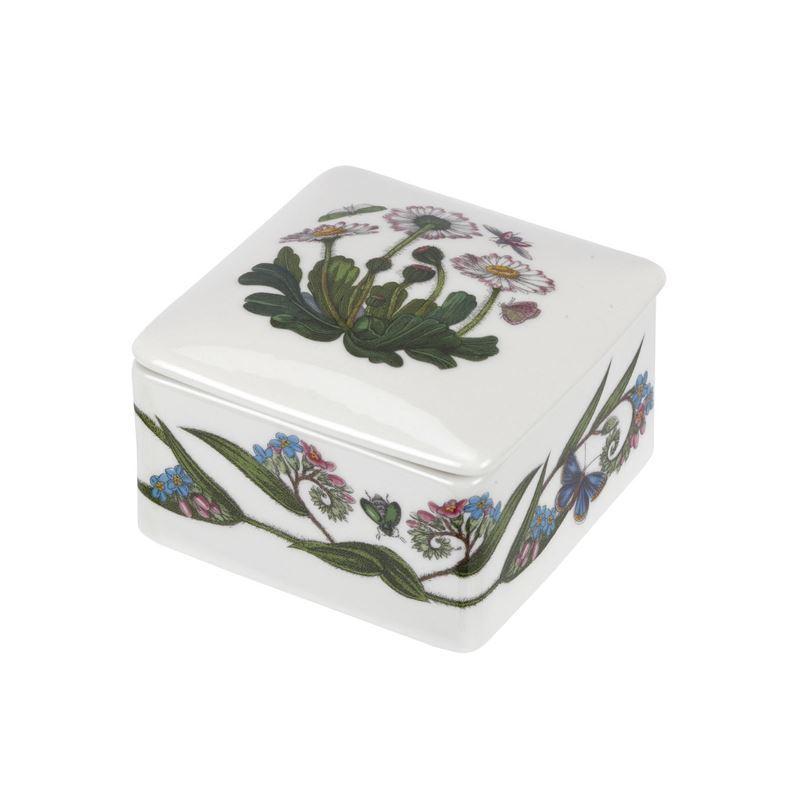Portmeirion Botanic Garden – Square Trinket Box 9.5cm