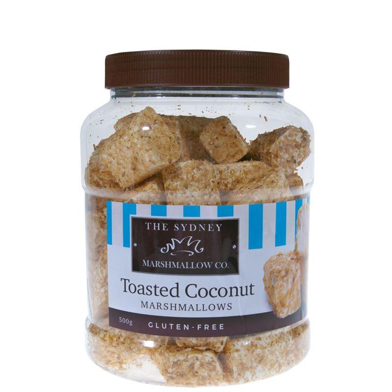 The Sydney Marshmallow Co. – Organic Toasted Coconut Marshmallow 500g Jar