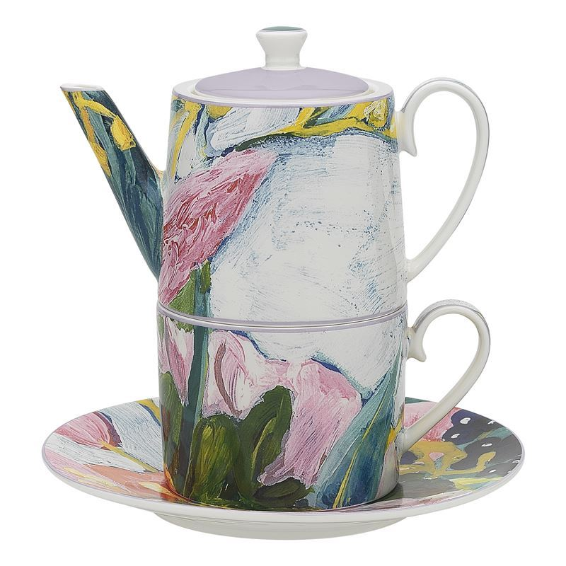 Ecology – Bloom New Fine China Tea for One with Infuser