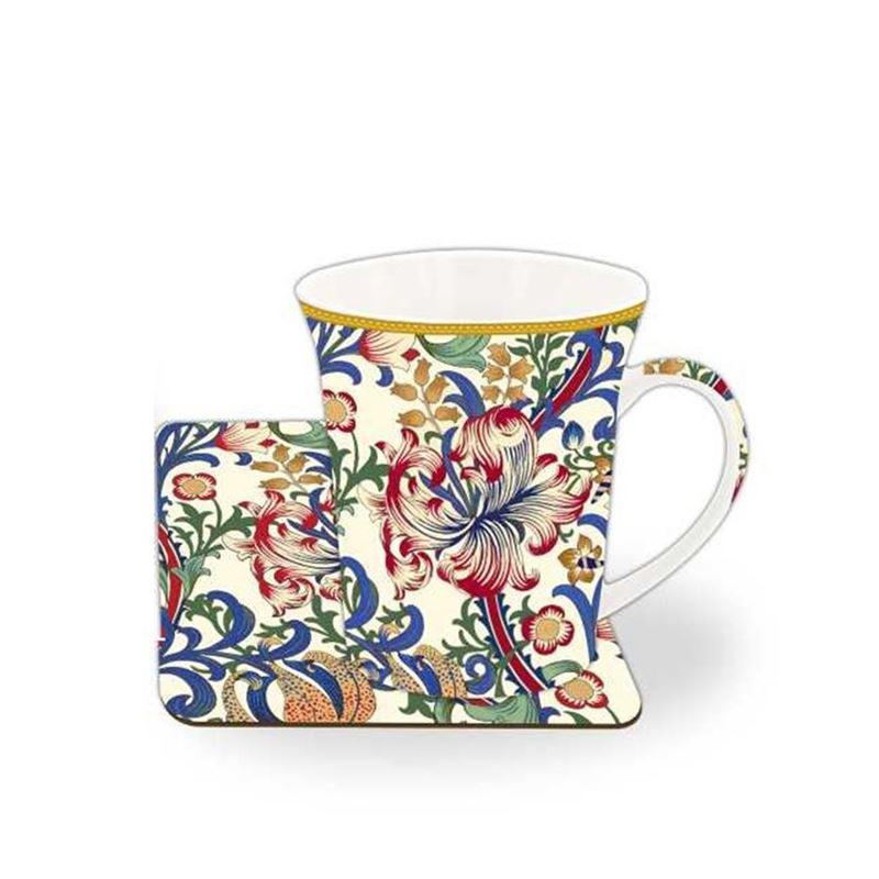 Nostalgic – China Mug and Coaster Set Morris Lily