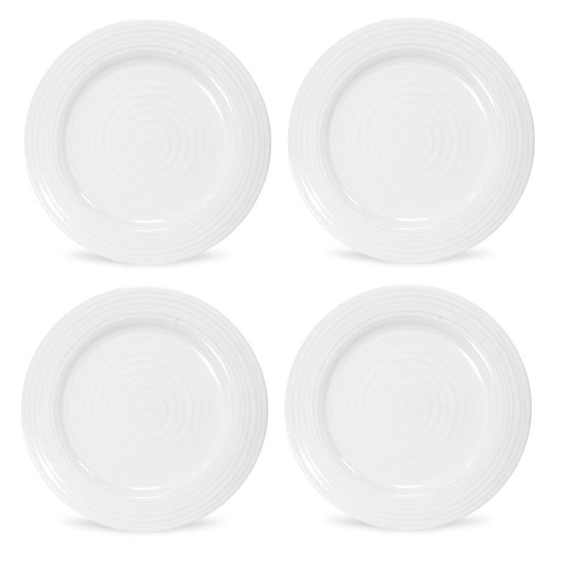 Sophie Conran for Portmeirion – Ice White Dinner Plate 28cm SET OF 4