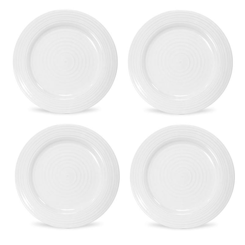 Sophie Conran for Portmeirion – Ice White Salad Plate 20cm SET OF 4