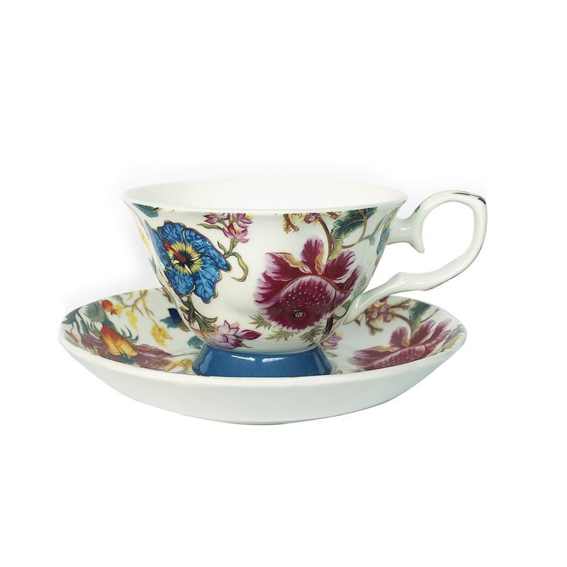 Heritage – Fine Bone China Cup and Saucer Set Anthina