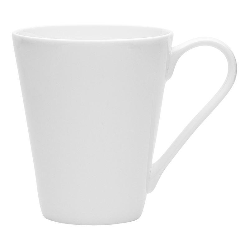 Ecology – Canvas White Fine Bone China Conical Mug 300ml