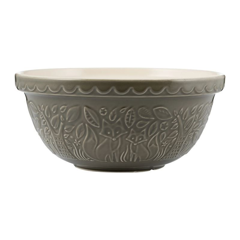 Mason Cash – Into the Forest Fox Grey Cane Mixing Bowl 29cm 4Ltr