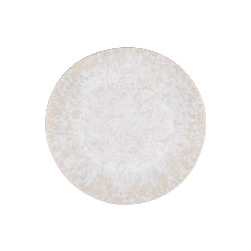 Tablekraft – Vilamoura Perola Reactive Round Plate 27.5cm Coupe Set of 4