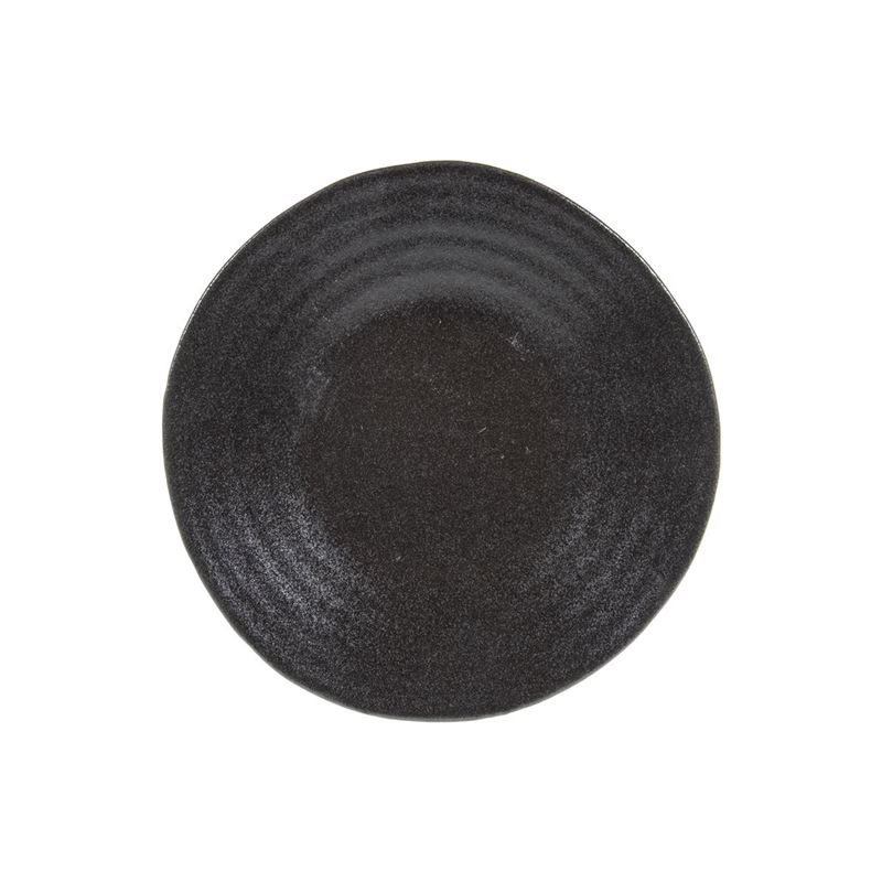 Tablekraft – Vilamoura Midnight Speckle Round Plate 21cm Coupe Set of 4
