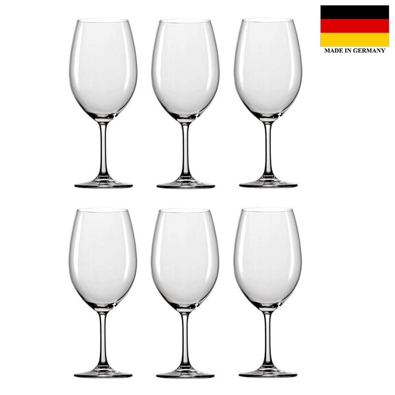 Stolzle – Classic Bordeaux 650ml Premium German Lead Free Crystal Glass Set of 6 (Made in Germany)
