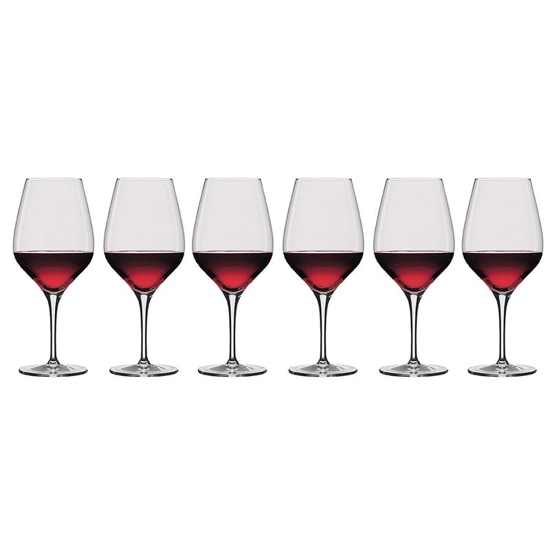 Stolzle – Exquisit Bordeaux 654ml Premium German Lead Free Crystal Glass Set of 6 (Made in Germany)