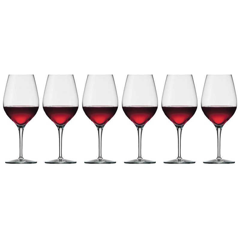 Stolzle – Exquisit Large Wine 420ml Premium German Lead Free Crystal Glass Set of 6 (Made in Germany)