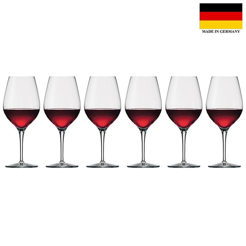 Stolzle – Exquisit XL Wine 480ml Premium German Lead Free Crystal Glass Set of 6 (Made in Germany)