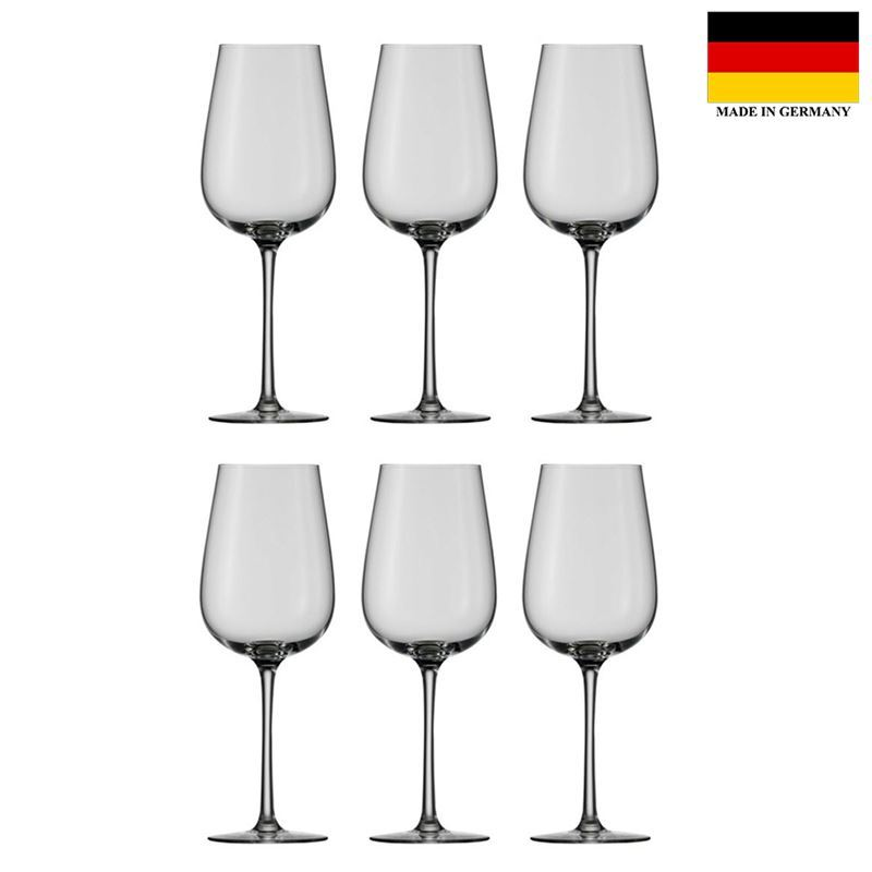 Stolzle – Grandezza Red Wine 430ml Premium German Lead Free Crystal Glass Set of 6 (Made in Germany)