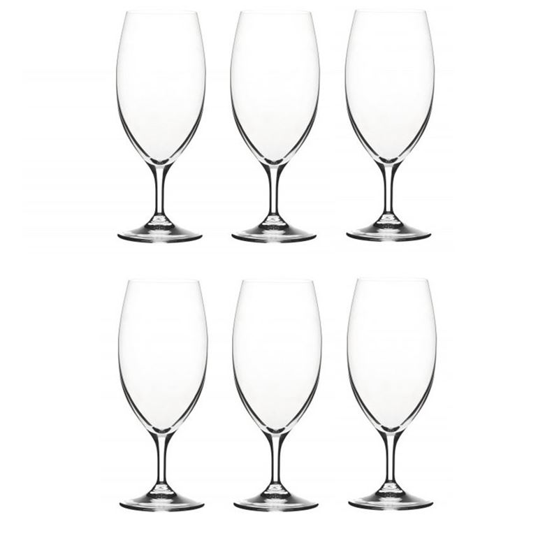 RCR Cristalleria Italiana – Daily Water/Beer Glass 426ml Set of 6 (Made in Italy)