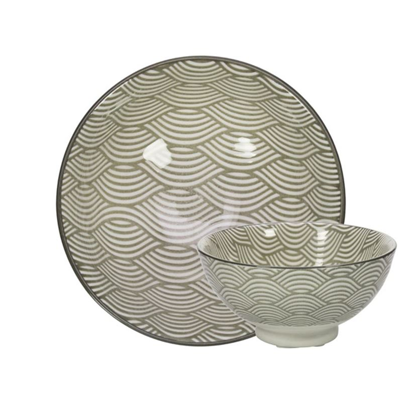 Gusta – Table Tales Commercial Grade Noodle Grey Waves 10×4.6cm