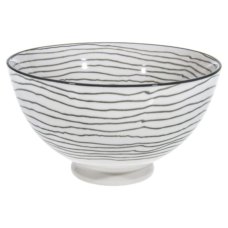 Gusta – Table Tales Commercial Grade Round Bowl Grey Swirl 13.5×7.5cm