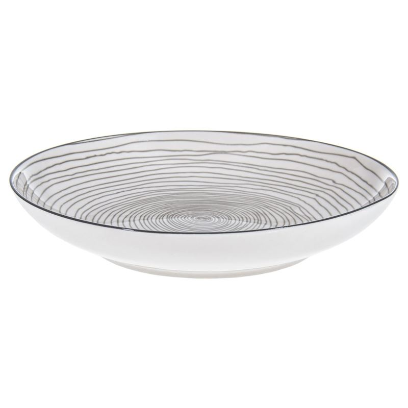Gusta – Table Tales Commercial Grade Round Plate Grey Swirl 21.5cm