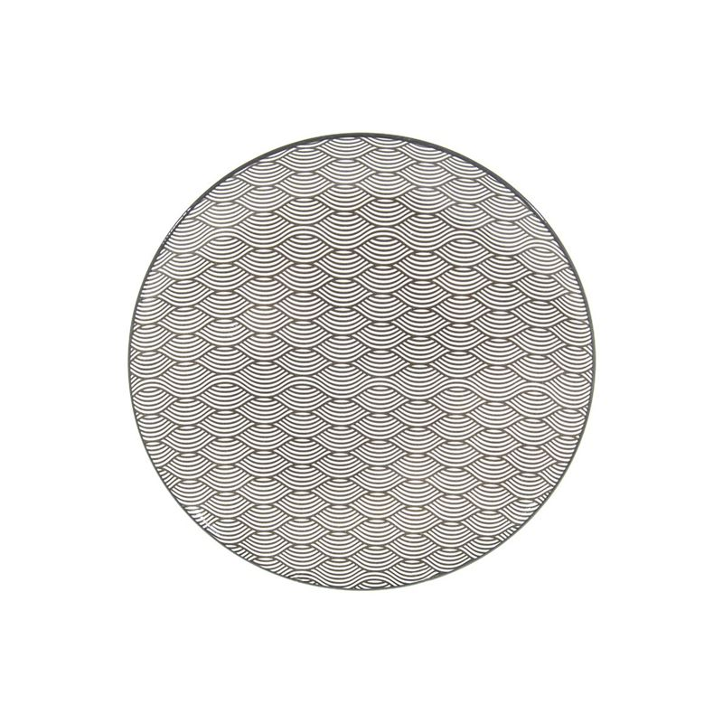 Gusta – Table Tales Commercial Grade Round Dinner Plate Wire Flowers 26.5cm