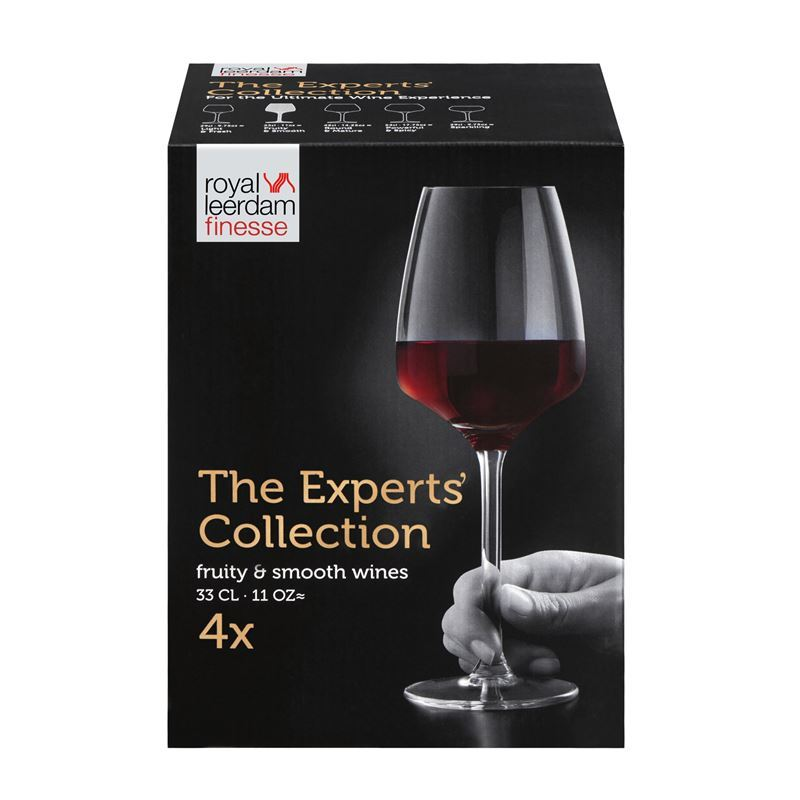 Royal Leerdam – Finesse The Experts Collection Fruity & Smooth 330ml Set of 4 (Made in The Netherlands)