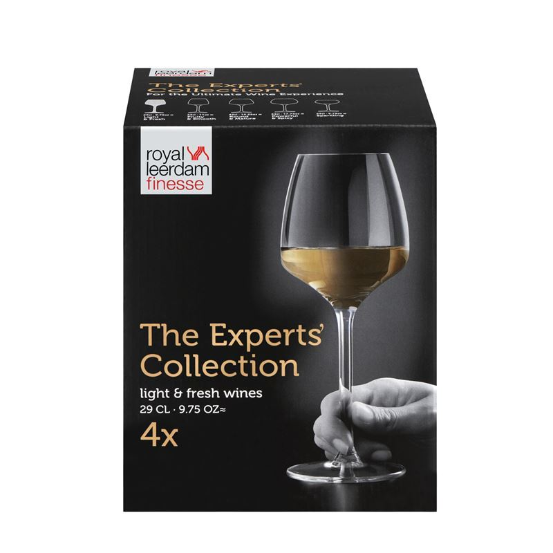 Royal Leerdam – Finesse The Experts Collection Light & Fresh 290ml Set of 4 (Made in The Netherlands)