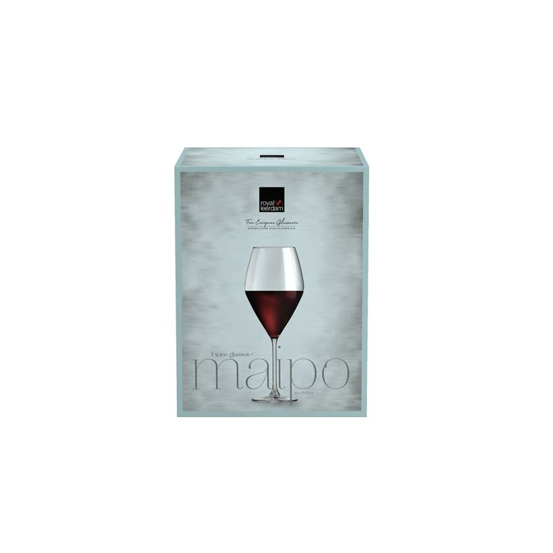 Royal Leerdam – Maipo Red Wine Glass 590ml Set of 4 (Made in The Netherlands)