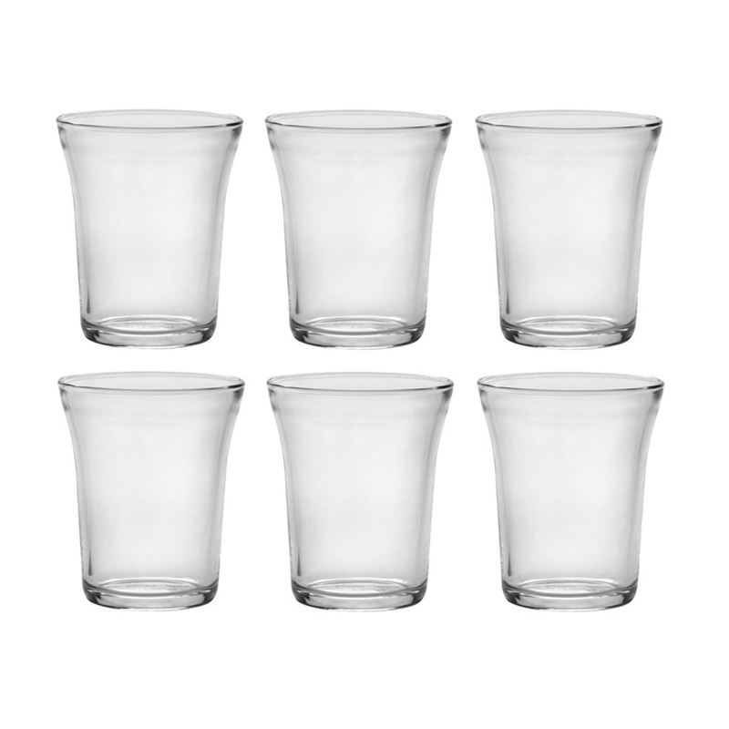Duralex – Universal Tempered Glass Tumbler 220ml Set of 6 (Made in France)
