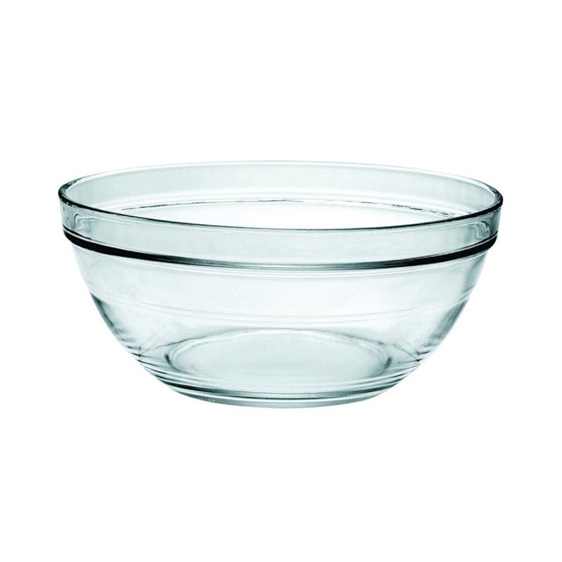 Duralex – Lys Tempered Glass Stackable Bowl 20cm 1.55Ltr (Made in France)