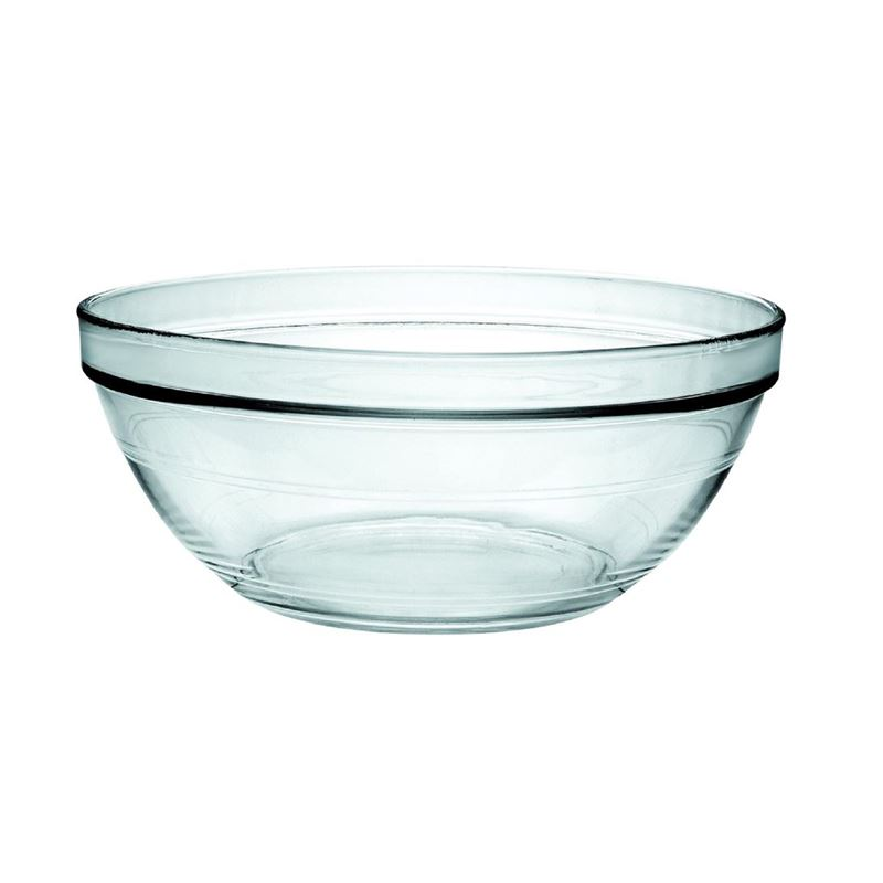 Duralex – Lys Tempered Glass Stackable Bowl 26cm 3.4Ltr (Made in France)