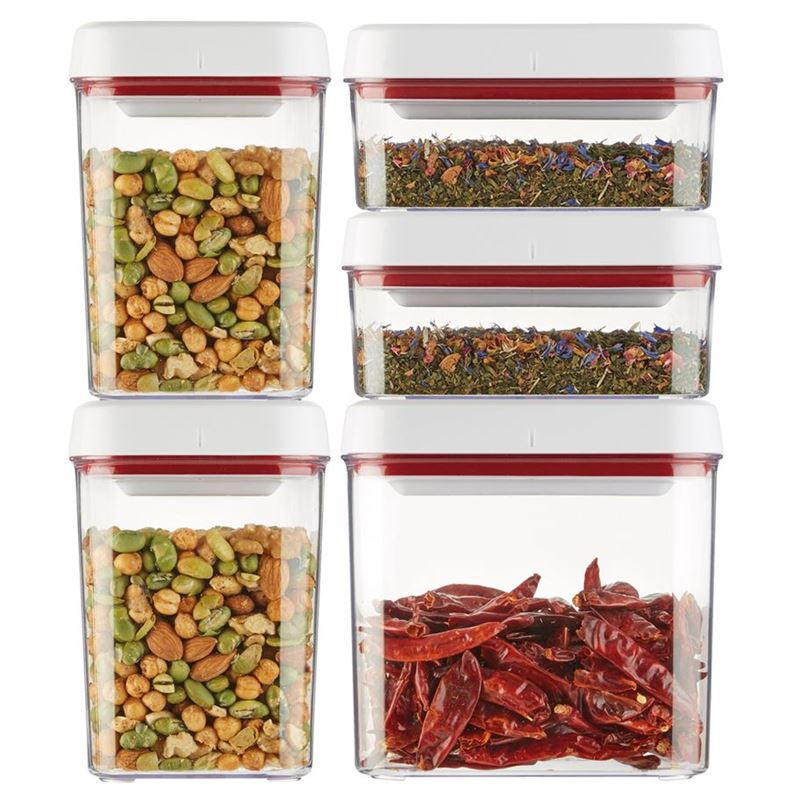 Zyliss – Twist & Seal 5pc Storage Container Set