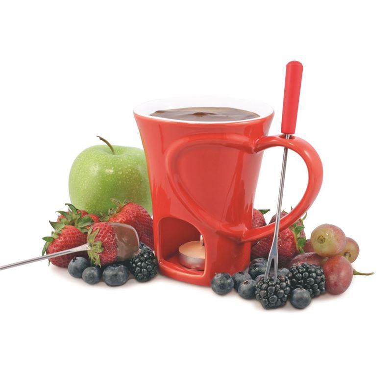 Swissmar – Sweetheart 4pc Chocolate Fundu Mug