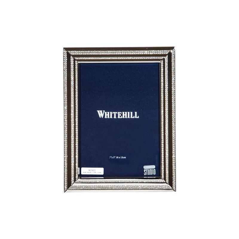 Whitehill – Silver Glitter Photo Frame 13x18cm