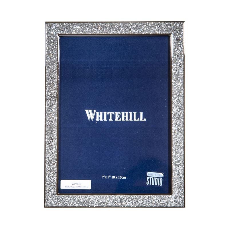 Whitehill – Plaza Glitter Photo Frame 13x18cm