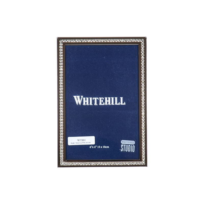 Whitehill – Vegas Glitter Photo Frame 10x15cm