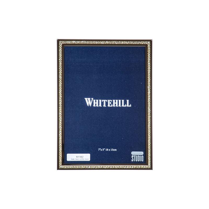 Whitehill – Vegas Glitter Photo Frame 13x18cm