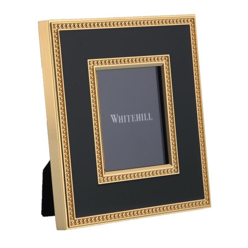 Whitehill – Empire Black/Gold Photo Frame 6.2×4.8cm