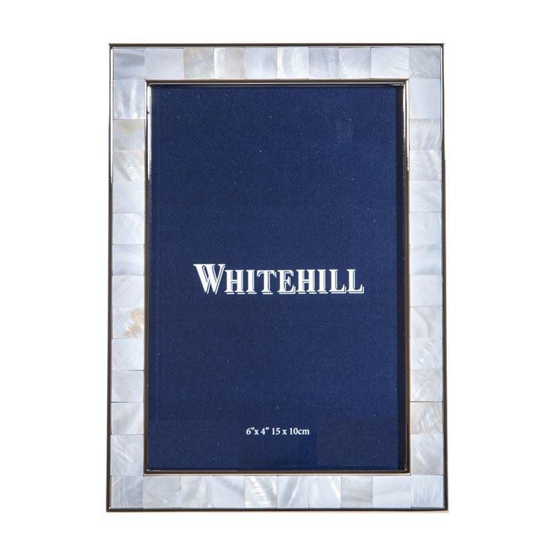 Whitehill – Natural River Shell Photo Frame 10x15cm