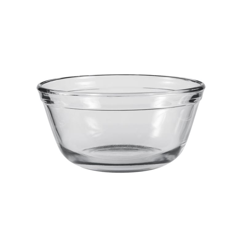 Anchor Hocking – Glass Original Mixing Bowl 16.8×8.3cm 1Ltr (Made in the U.S.A)